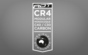 CR4 Modular Monocoque C40C30 carbon